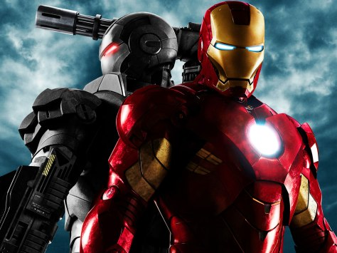 Iron Man, Iron Man 2, Iron Man 3, War Machine, Whiplash, Robert Downey Jr, Pepper Potts, Gwyneth Paltrow, Mickey Rourke, Justin Hammer, Sam Rockwell, Nick Fury, Samuel L Jackson, Marvel Cinematic Universe, Marvel, Comics, MCU