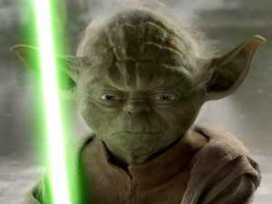 Yoda, Star Wars, Lightsaber,