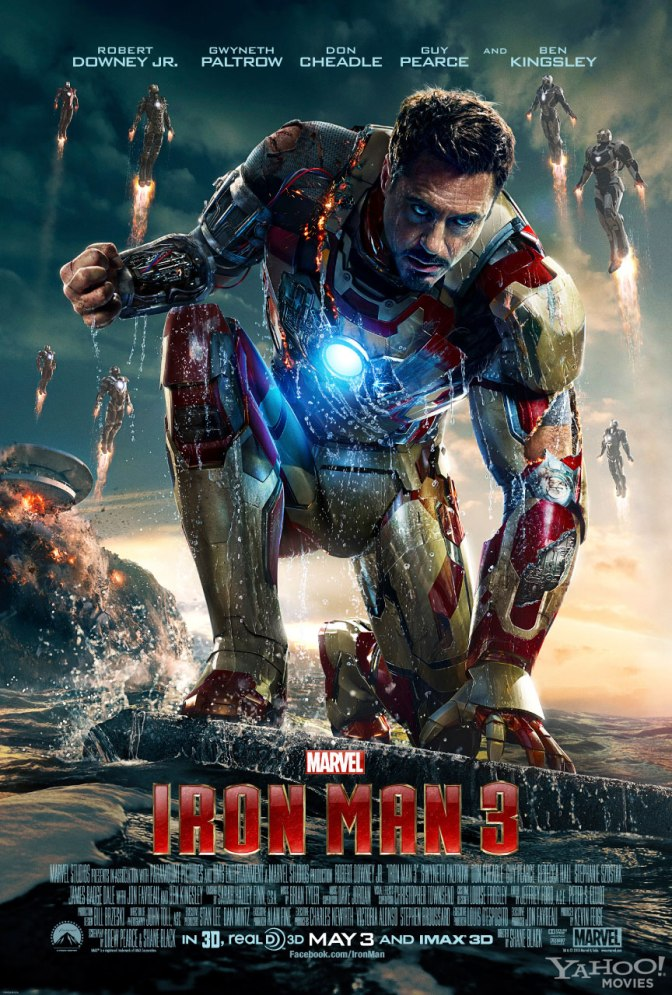 New Iron Man 3 Poster and Trailer Next Week