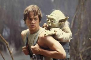 Yoda, Luke Skywalker, Frank Oz, Mark Hamill, The Empire Strikes Back, Star Wars