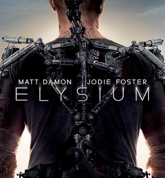 Elysium, Matt Damon, Jodie Foster, Shalto Copley, Neil Blomkamp