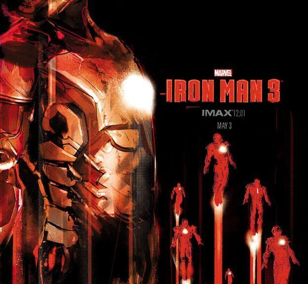 Iron Man 3, IMAX, Iron Man, Iron Man 3 Poster, Robert Downey Jr., Jock