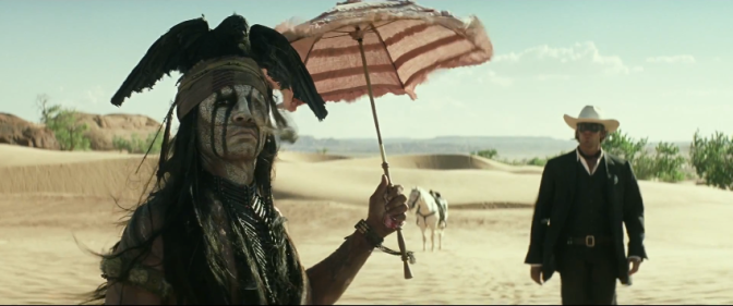 Trailer Time: The Lone Ranger Trailer #4 (2013)