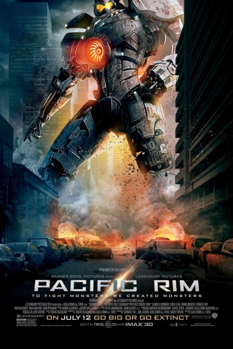 Pacific Rim, Guillermo del Toro, Idris Elba, Charlie Hunan, Jaeger, Monster