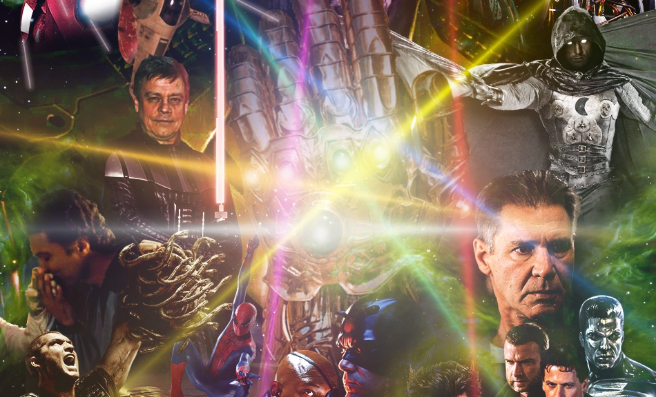 Star Wars Episode VII, Infinity Gauntlet, Thanos, Episode VII, Patton Oswalt