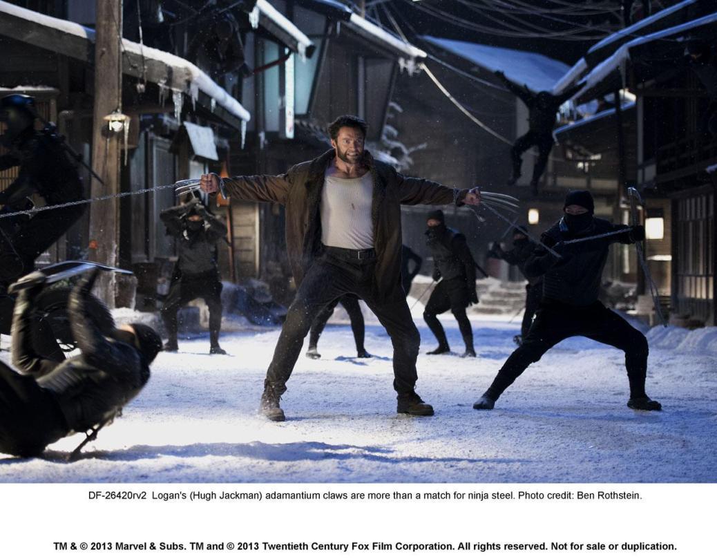 entertainment, wolverine, hugh-jackman, x-men, days-of-future-past, james-mangold, trailer, movies-2, ninjas, comic-books, samurai, japan, adamantium, the-wolverine, silver-samurai, viper, sword, yukio, logan, wolverine-samurai, japanese-trailer