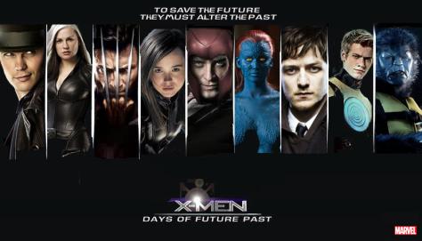 X-Men Days of Future Past, X-Men, Magneto, Beast, Iceman, Shadowcat, Storm, Rogue, Mystique, Professor X, Wolverine, Havok