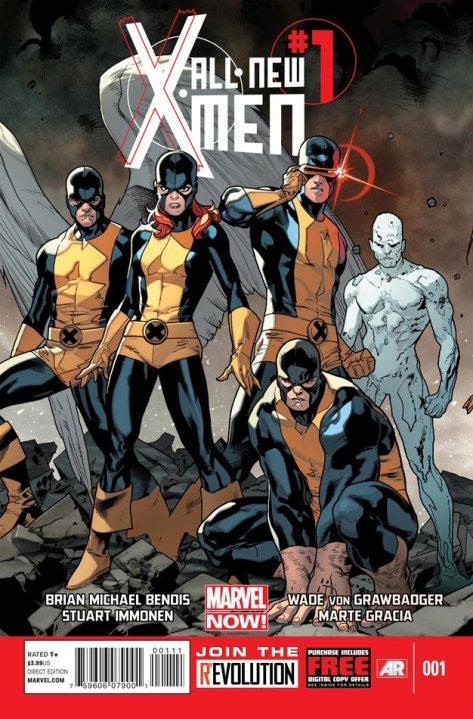 All-New X-Men, X-Men, Marvel, Brian Michael Bendis, Stuart Immonen, Marvel