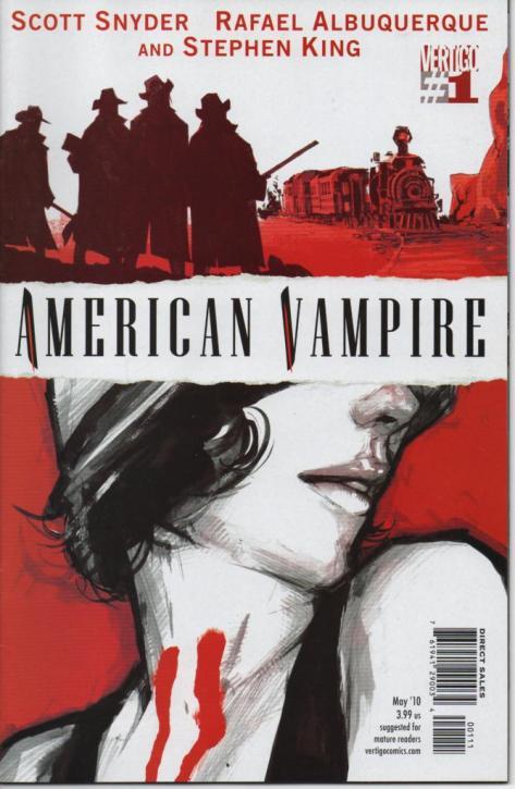 American Vampire, Vertigo, Scott Snyder, Rafael Albequerque