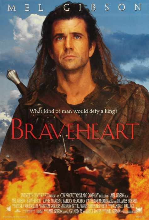 Braveheart, William Wallace, Mel Gibson