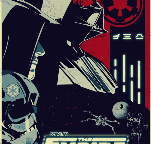 Darth Vader, Star Wars, Anakin Skywalker, Stormtroopers, The Galactic Empire, Episode V, The Empire Strikes Back