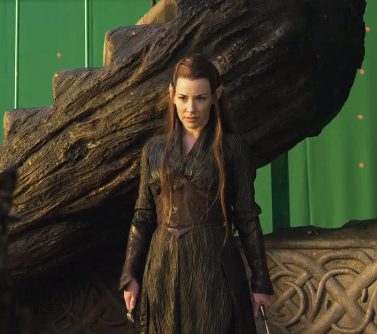 Evangeline Lilly Talks About Playing - 161.7KB