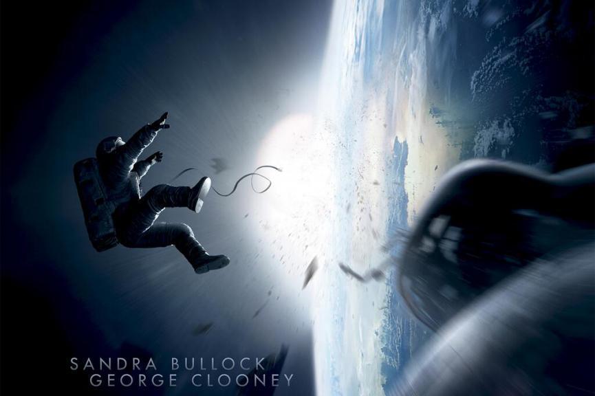 Gravity, Alfonso Cuaron, Sandra Bullock, George Clooney