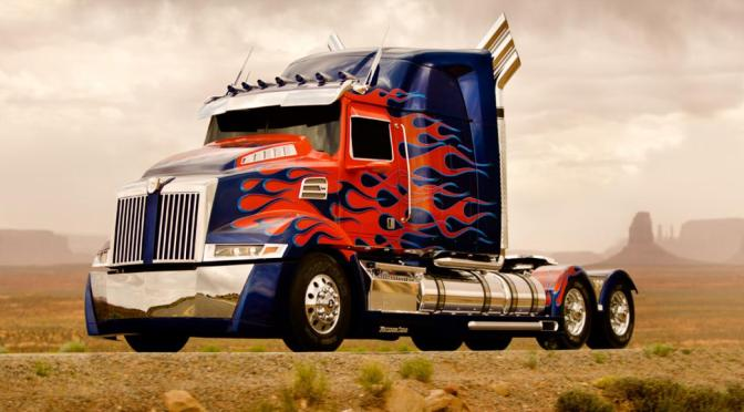 First Look at Optimus Prime & Bumblebee in Transformers 4