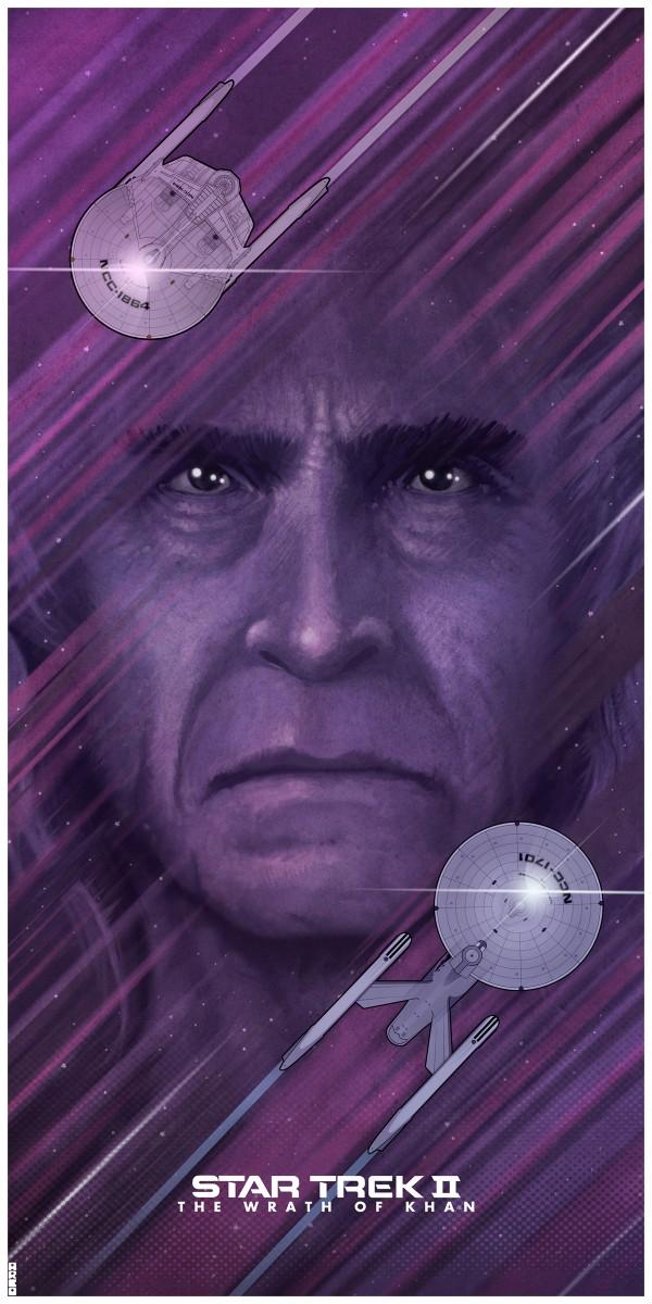 Star Trek, Star Trek 2, Star Trek II: The Wrath of Khan, Khan