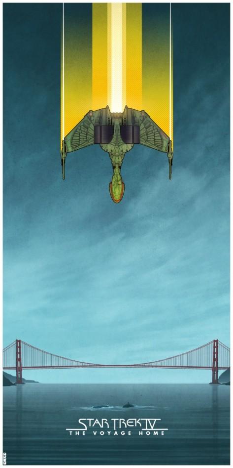 Star Trek, Star Trek 4, Star Trek IV: The Voyage Home, Klingon, Bird of Prey