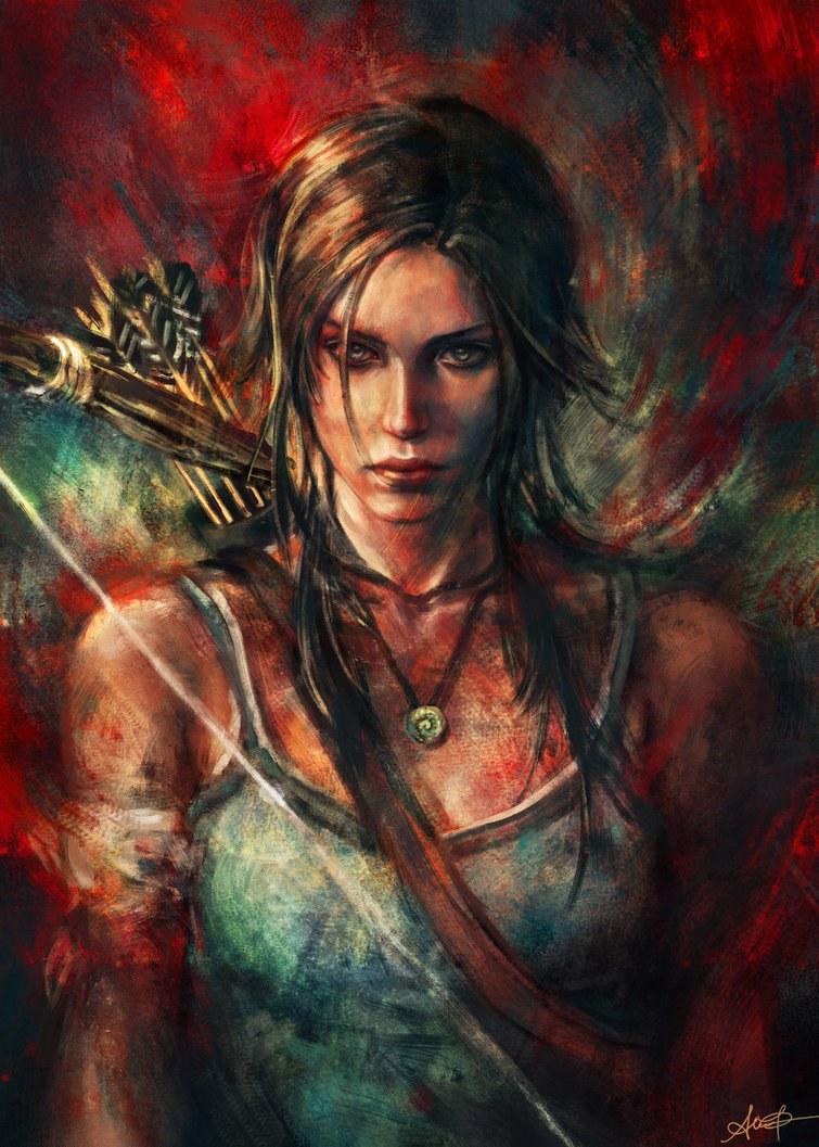 Lara Croft, Tomb Raider, Alice X