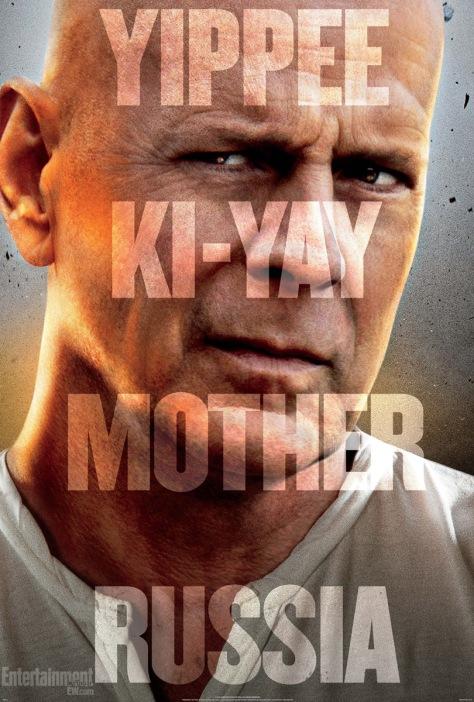 Die Hard, A Good Day to Die Hard, Bruce Willis, John McClane