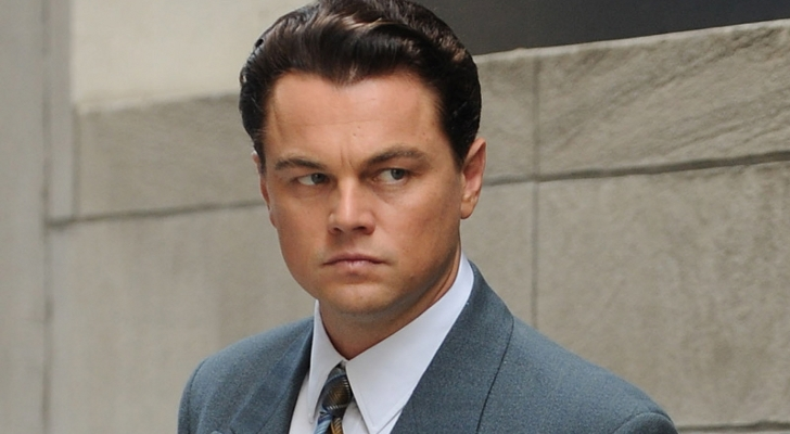 Leonardo DiCaprio, The Wolf of Wall Street, Oliver Stone