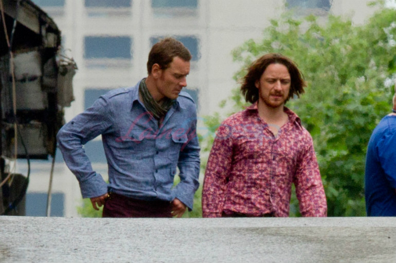X-Men Days of Future Past, Magneto, Professor Xavier, James McAvoy, Michael Fassbender