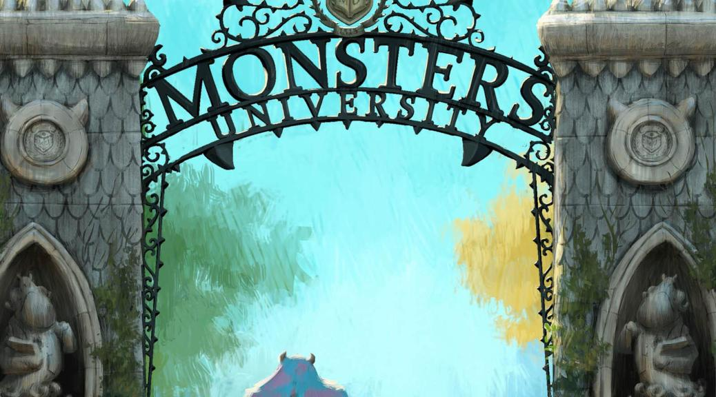Monsters University, sully, Mike, Disney, Pixar
