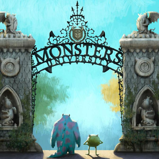 Movie Review: Monsters University (2013)