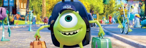 Monsters University, Mike, Disney, Pixar