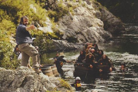 The Hobbit, The Hobbit The Desolation of Smaug, Dwarves, Barrel Escape, Peter Jackson