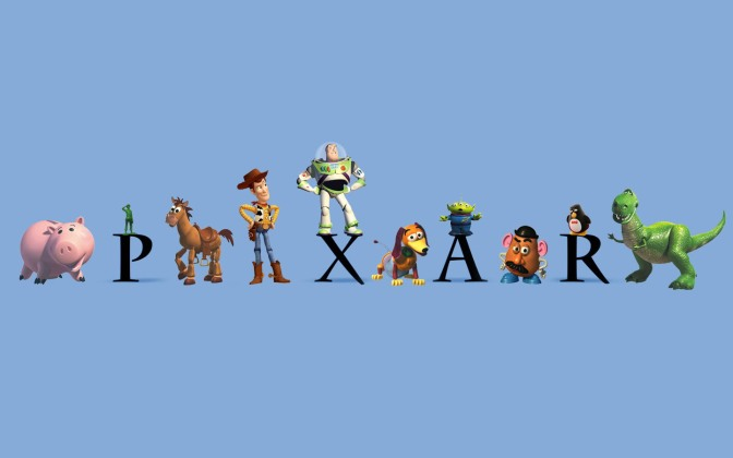 Top 5: PIXAR Characters