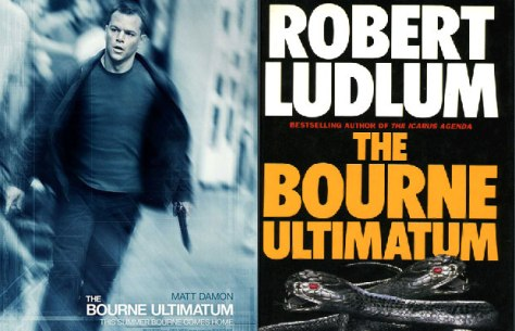 The Bourne Ultimatum, Jason Bourne, Matt Damon, Robert Ludlum