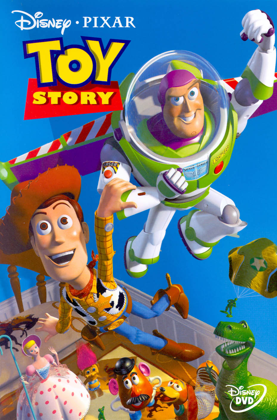 Toy Story, Pixar, Disney, Buzz Lightyear, Woody, Rex, Bo Peep, Slinky Dog