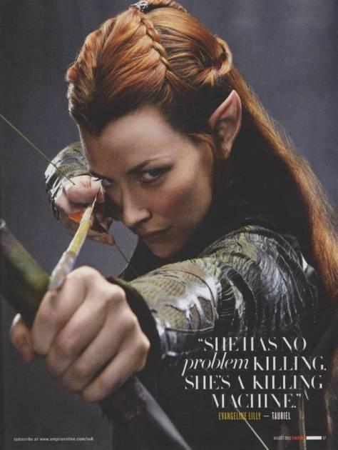 Tauriel, The Hobbit, The Hobbit The Desolation of Smaug, Evangeline Lilly, Elf