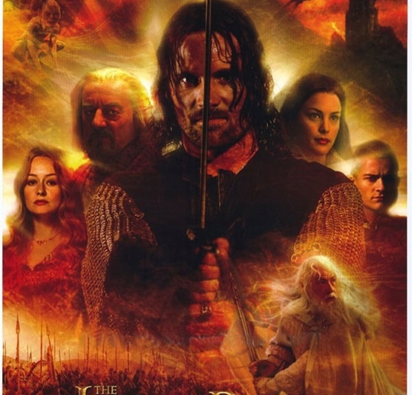 Lord of the Rings, Return of the king, Lord of the Rings The Return of the King, Aragorn, Theoden, Eowyn, Gandalf, Arwen, Legolas