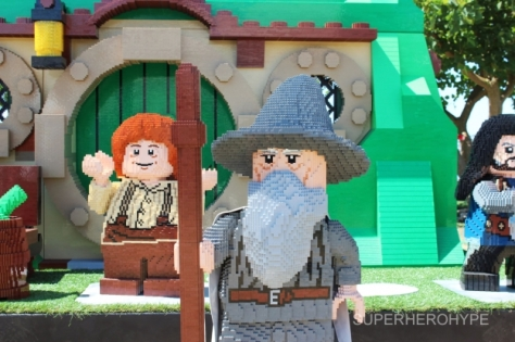 LEGO, Hobbit, Gandalf, Dwarves, Comic Con
