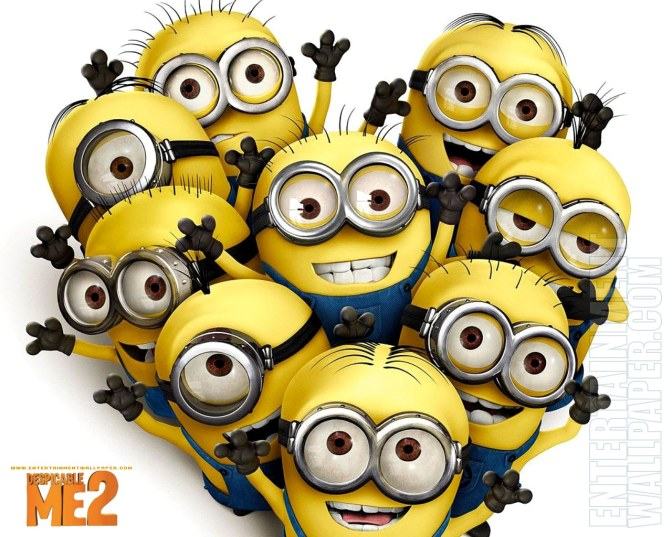 Despicable Me 2 Blu Ray/DVD Date and Details!  MINIONS!!!  MORE MINION MINI-MOVIE MADNESS!!!  AND MINIONS!