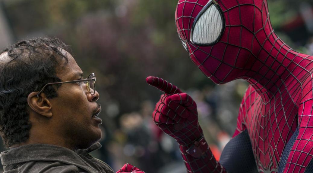Jamie Foxx, Electro, Max Dillon, Spider-Man, Andrew Garfield, Amazing Spider-Man 2