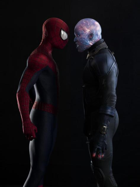 Jamie Foxx, Andrew Garfield, Electro, Spider-Man, Amazing Spider-Man 2