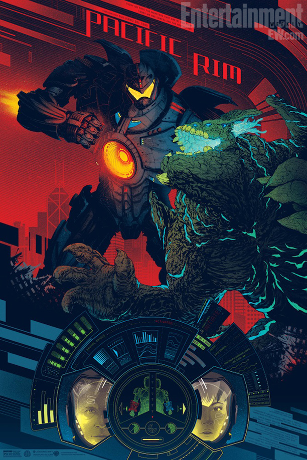 Pacific Rim Kaiju Poster 301 Moved Permanently