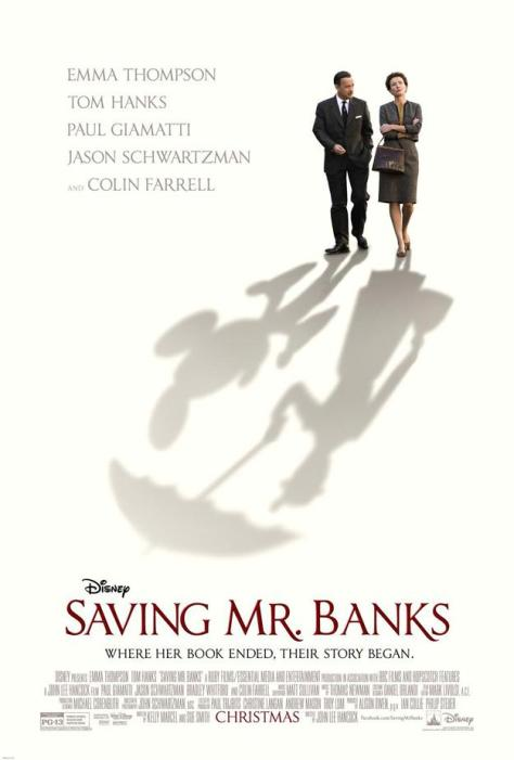 Saving Mr. Banks, Walt Disney, Tom Hanks, Emma Thompson