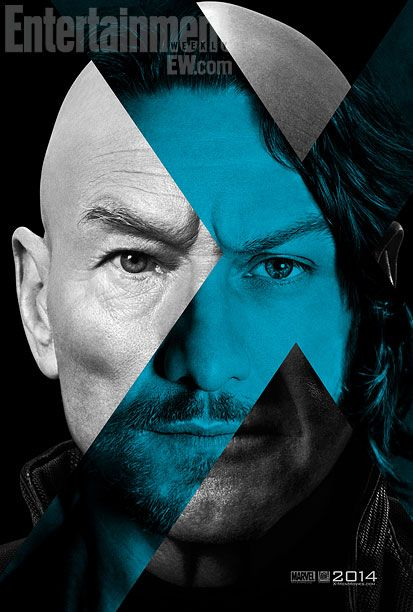 X-Men Days of Future Past, Patrick Stewart, James McAvoy, Ian McKellan, Michael Fassbender, Magneto, Professor Xavier