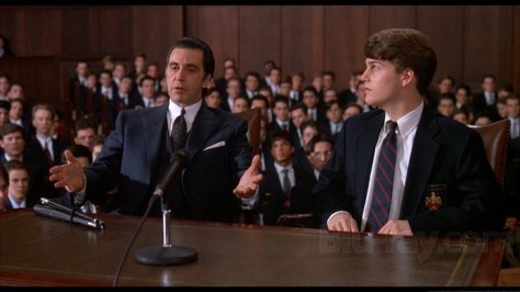 Scent of a Woman, Al Pacino, Chris O'Donnell