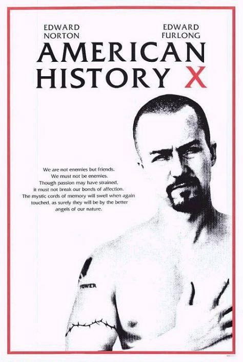 American History X, Edward Norton, Edward Furlong