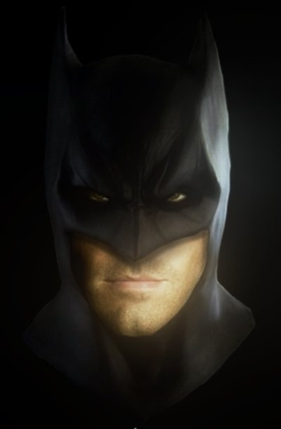 Batman as Ben Affleck fan art | Killing Time Batman Cowl Ben Affleck