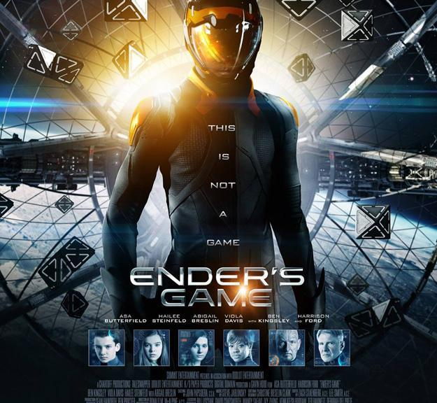 Ender's Game, Harrison Ford, Asa Butterfield, Viola Davis