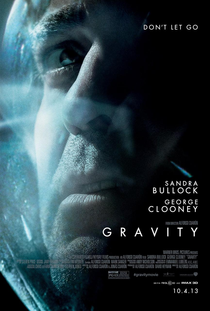 Gravity, Alfonso Cuaron, George Clooney