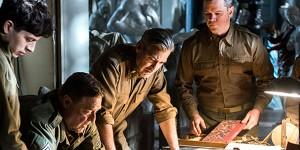 The Monuments Men, George Clooney, Hugh Bonneville