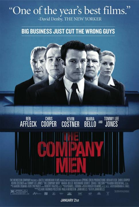 Ben Affleck, Chris Cooper, Tommy Lee Jones, Kevin Costner