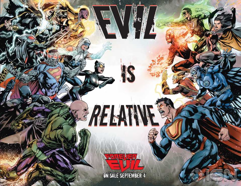 DC Comics    Forever Evil 7-Part Event Begins Today Ultraman Forever Evil