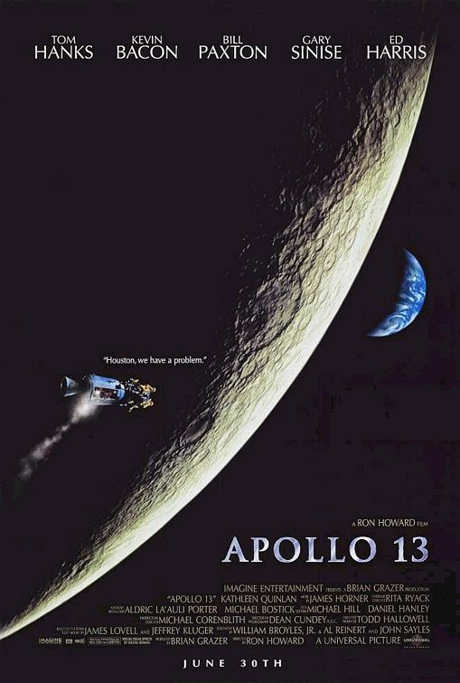 "My Favorite Scene: Apollo 13 (1995) ""Houston, We Have a Problem"""