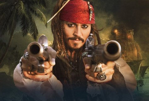 Pirates of the Caribbean 5, Johnny Depp, Captain Jack Sparrow